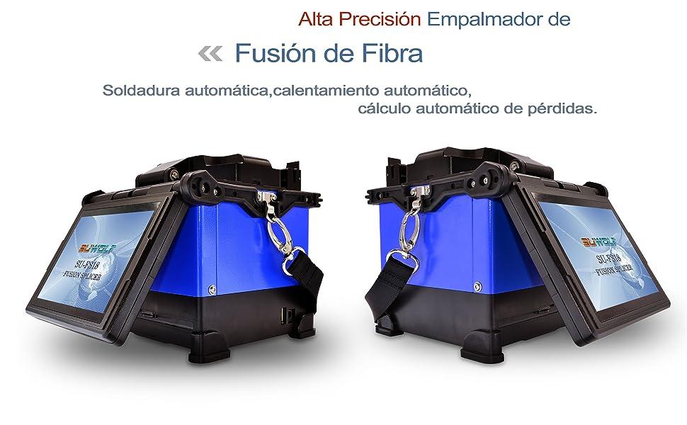Fusionadora De Fibra Optica,SUWOLF 5