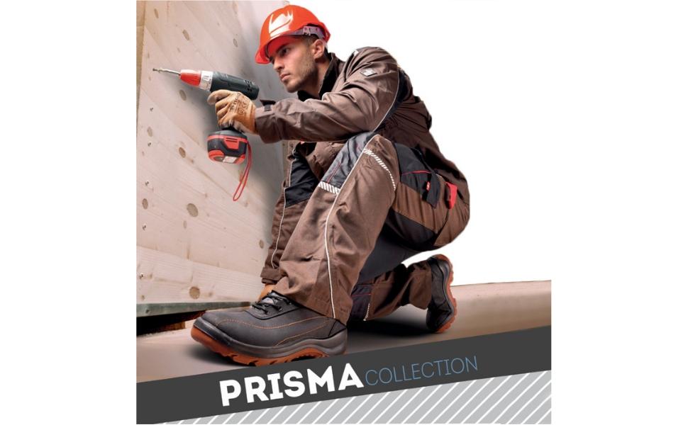 Gris//Naranja Chaqueta de Trabajo Multiusos para Hombre Stenso Desman/®