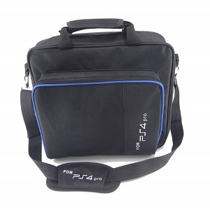 SYMTOP Bolsa de Viaje Transporte Playstation 4 PS4 - Negro: Amazon ...
