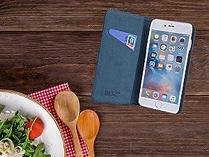 La funda Classic de 32nd para Apple iPhone 7 Plus & 8 Plus hecha en auténtico cuero, ofrece un toque clásico a su teléfono sin comprometer la funcionalidad ...