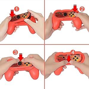 Lammcou Volante Control Grips para Switch para Minecraft ...