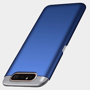 Richgle Funda Samsung Galaxy A80, Azul Ultra Slim Protectora Funda ...