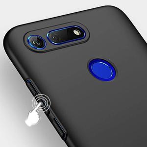 Richgle Funda Huawei Honor View 20 / Honor V20, Negro Ultra Slim Protectora Funda Case Plástico Duro Cover para Huawei Honor View 20 / Honor V20 RG00366: Amazon.es: Electrónica