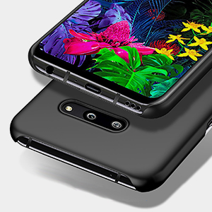 Richgle Funda LG G8 ThinQ, Negro Ultra Slim Protectora Funda Case ...