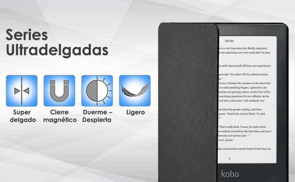 Forefront Cases Estuche para Kobo Clara HD 2018: Amazon.es ...
