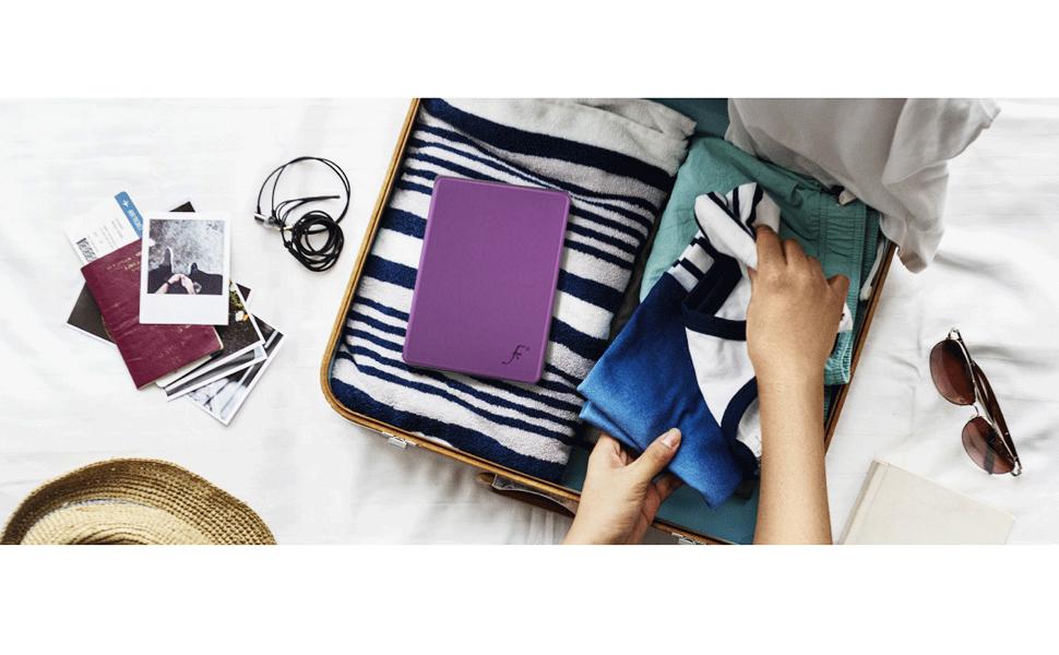 Forefront Cases Estuche para Kobo Clara HD 2018 - Funda Protectora con Cierre Magnético del eBook Reader - Design Standard y Función Wake-Sleep - ...