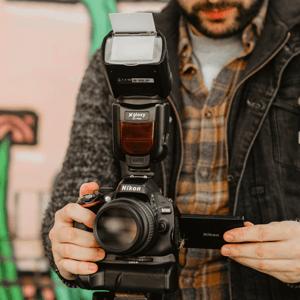 Flash TTL Auto FP Gloxy GX-F990 Para Nikon D3400, D3200, D3300 ...