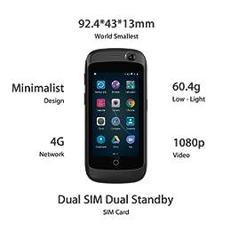 Smartphone pequeño pero con todas las funciones