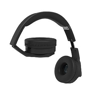 VEENAX HS3 Auriculares Bluetooth Over-Ear, Altavoz Portátil ...
