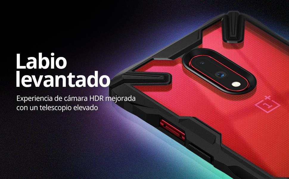 Ringke Fusion-X Diseñado para Funda OnePlus 7 Protección Resistente Impactos Carcasa OnePlus 7 (6.4