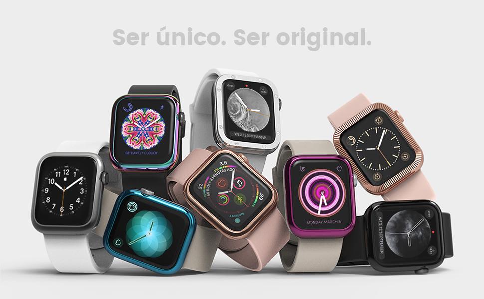 Ringke Bezel Styling para Funda Apple Watch 40mm Carcasa para Series 4 (2018) - AW4-09