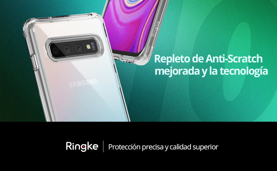 Ringke Fusion Diseñado para Funda Galaxy S10 Plus (2019)