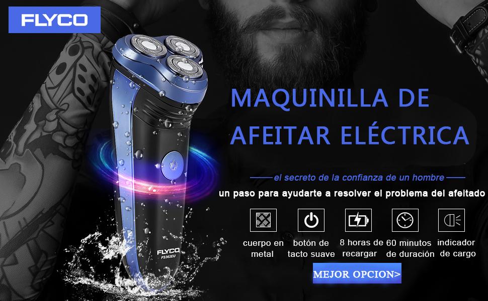 Maquina de afeitar electrica para hombre barba rotativa FS362EU ...
