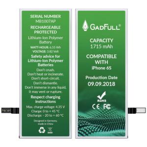 GadFull Batería para iPhone 6S con kit de herramientas profesional de reparación manual