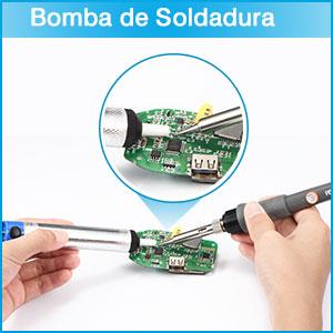 ☆Cómo usar la bomba desoldadora