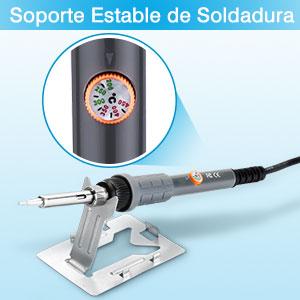 ☆Soldador Eléctrico con Soporte Estable