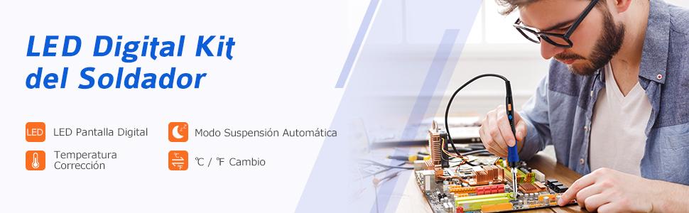 Al presionar / mantener presionado brevemente el botón más / menos, puede cambiar rápidamente la temperatura objetivo o establecer la temperatura objetivo ...