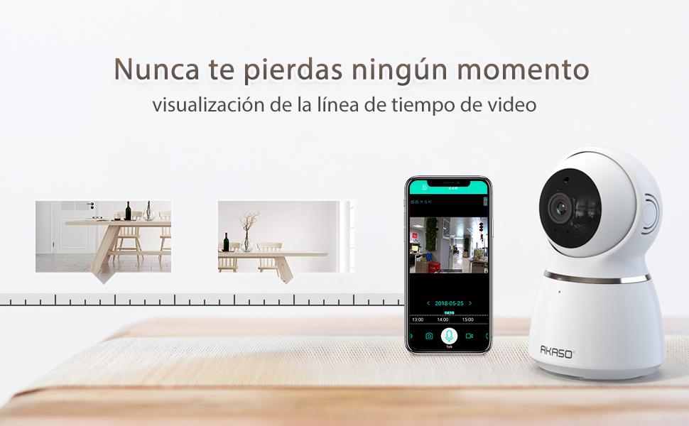 Cámara de Seguridad WiFi 1080P