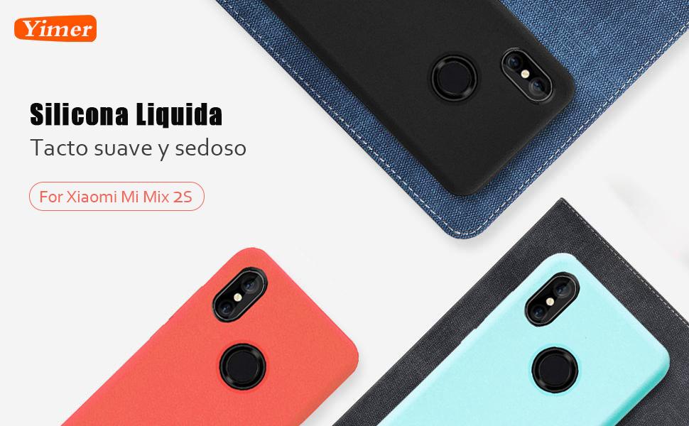 Funda Xiaomi Mi Mix 2S Silicona Ultra Suave TPU Gel Protectora ...