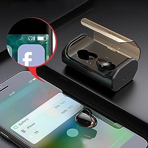 Arbily Auriculares Bluetooth, Auriculares Inalámbricos Bluetooth ...