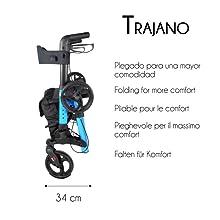 Mobiclinic, Modelo Trajano, Andador para adultos, ancianos ...