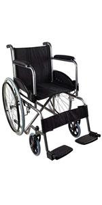 Silla de ruedas para tránsito de aluminio ultraligera y ...