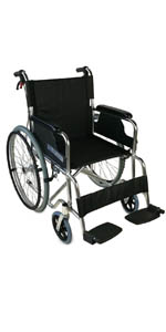 Silla de ruedas | Plegable | Ruedas pequeñas | Aluminio ...