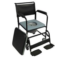 silla acolchado, silla de ruedas wc, silla con inodoro, silla para enfermos