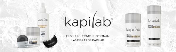 Kapilab Fibras Capilares (5 gramos, Negro)