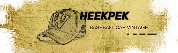 heekpek Gorra Hombre Béisbol Retro Snapback Unisex Verano Letra W ...