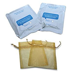 Arcilla de secado al aire Bubzi Co para decoración con huellas de bebé, cambiador o