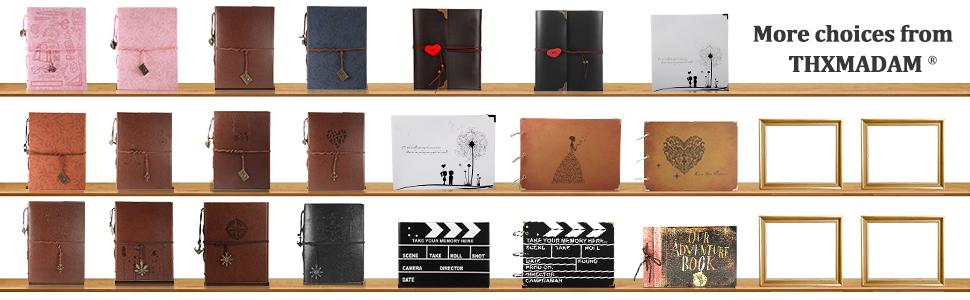 Album de Fotos de Piel,Libros de Firmas para Boda Scrapbook Album ...