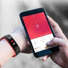 Este rastreador de actividad física puede controlar la frecuencia cardíaca de forma continua y automática las 24 horas para ayudarlo a comprender mejor su ...