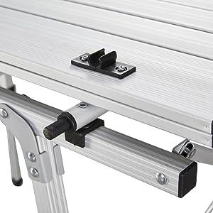 Uquip Variety M - Mesa para acampada, aluminio, 89 x 53cm, altura regulable: Amazon.es: Deportes y aire libre