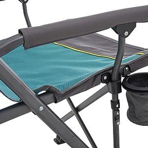Uquip Roxy - Silla de Camping con portabotellas - Estructura ...