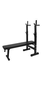 Banco de pesas 5 etapas · Banco de pesas rebatible · Soporte para pesas · Entrenador abdominal