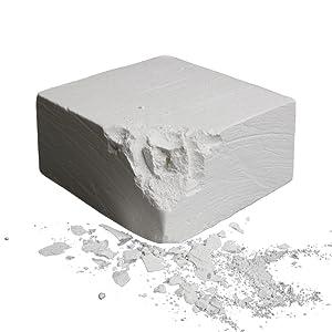 ALPIDEX Chalk Block Escalada 56 g Gimnasia Halterofilia Entrenamiento Deportivo