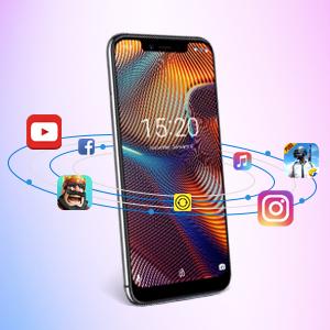 UMIDIGI A3 Pro Smartphone Libre Android 9.0 Pie Dual 4G Volte 5.7