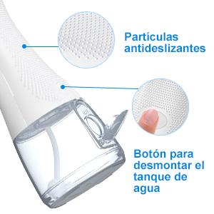 Uvistare irrigador dental con Partículas Antideslizantes
