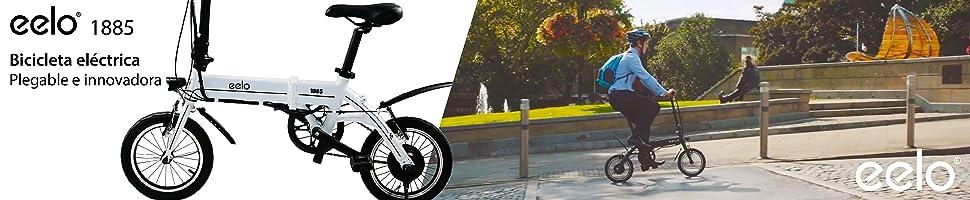 Bicicleta eelo. Plegable e innovadora. Explorar más.