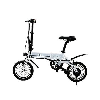 Eelo 1885 Bicicleta eléctrica plegable, portátil y fácil de ...