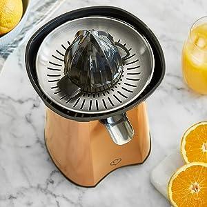 Springlane Kitchen Exprimidor de Cítricos Eléctrico de Acero ...