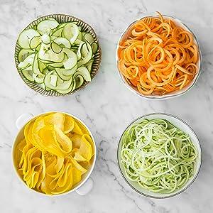 Grueso o fino - usted decide la forma de la pasta