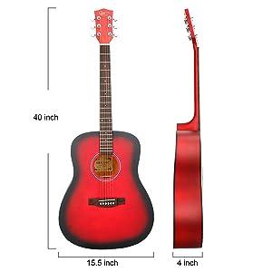 Especificación. Tipo: guitarra acústica ...