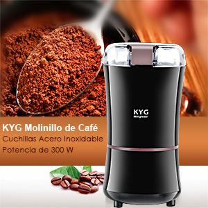 Molinillo Eléctrico de Café Semillas Especias Frutos Secos Molinos ...