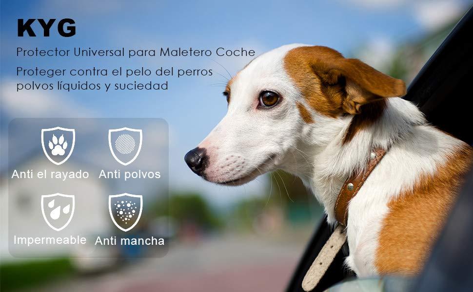 KYG Protector Universal para Maletero Cubierta Impermeable para ...