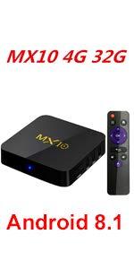MX10 4G 64G TVBOX · MX10 4G 32G TV BOX ...