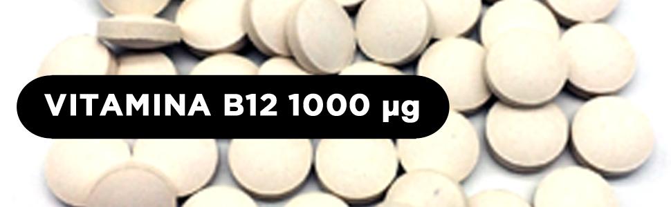Vitamina B12 Metilcobalamina 1000 mcg | 200 comprimidos (Más de 6 ...