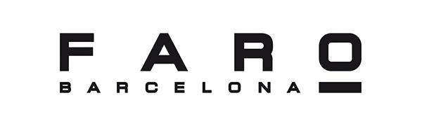 Faro Barcelona Ibiza 33284 - Ventilador sin luz, cuerpo de acero y palas de madera plywood, color blanco