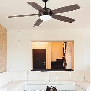 Faro Barcelona 33314 VANU Ventilador de techo con luz 5